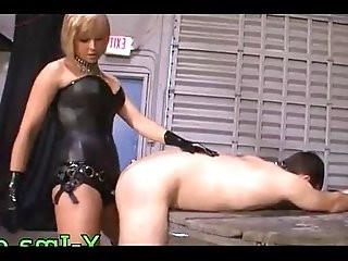 Bitchy mom fucks little boy