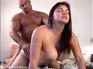 Beautiful tits MILF loves the taste of cum