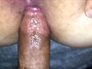 Hardcore anal on tight ass MILF gets more than she wanna balls deep making her scream and fight till she gets anal creampie