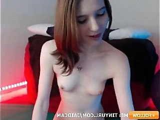 Pale Petite and Flexible as Fuck