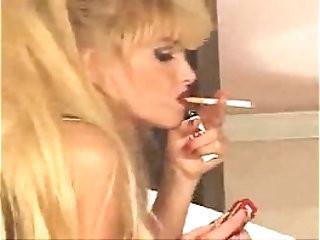 SWEET SMOKING PORNSTAR WITH BOOBS