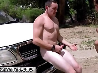 Black beach patrol and dominant cop Sex With a Sneaky Stripper