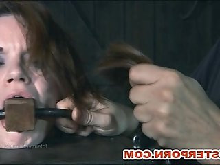 Valentines BDSM and Slaves Hair Shearing
