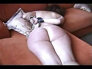 Whipping ass of my mature submissive wife. Amateur home made