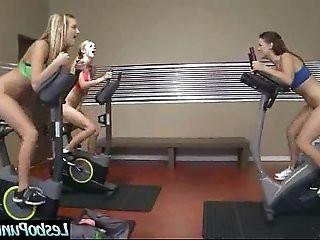 Lez Girl blake karlie kenna And Mean Girl In Punish Sex Tape clip