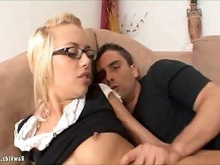 Blonde Teen Girl get Fucked Hard