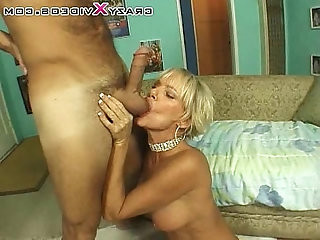Milf playing with big tits gets fucked