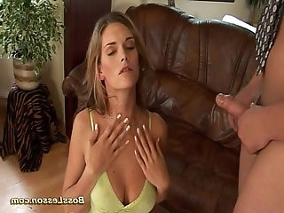 hot cute Whore her anal punished by boss